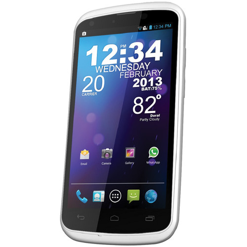 BLU Tank 4.5 W110A 4GB (Unlocked, White)