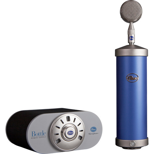 Blue Bottle Microphone with SKB Case