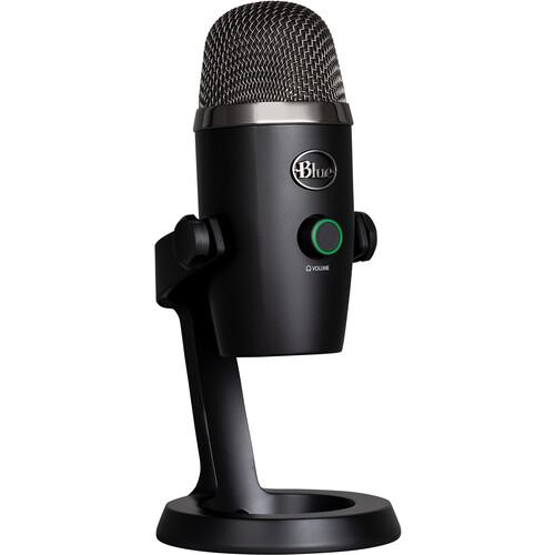 Blue Yeti Nano Multi-Pattern USB Condenser Microphone (Blackout)