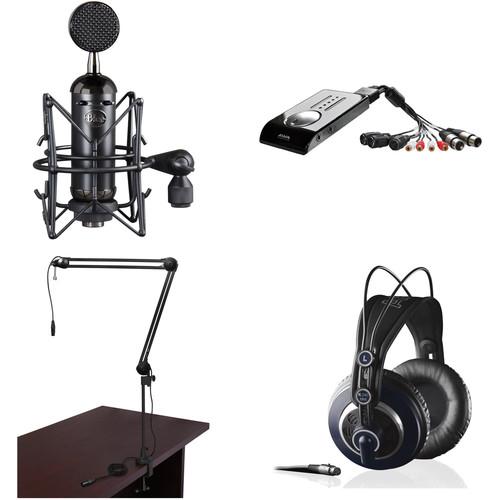 Blue Blackout Spark Vocal Broadcasting Kit