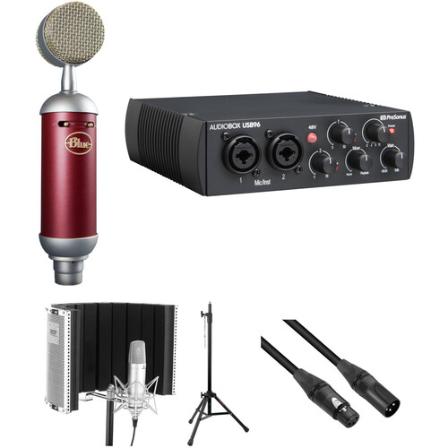 Blue Spark SL Microphone with USB Recording Interface & Accessory Kit