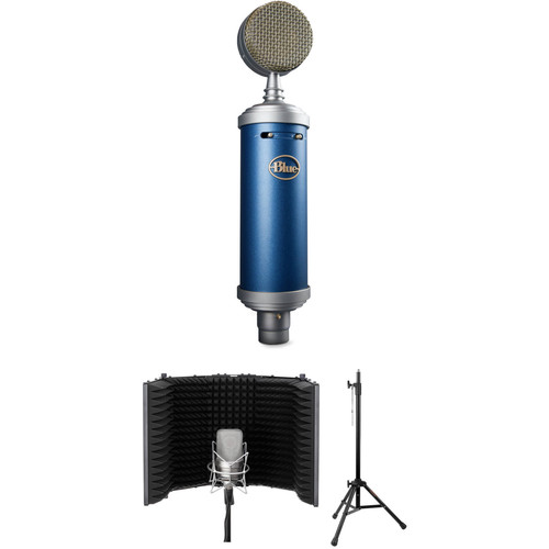 Blue Bluebird SL Condenser Vocal Microphone and Isolation Solution Kit