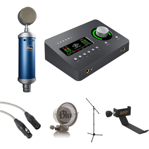 Blue Bluebird SL Solo Artist Recording Kit