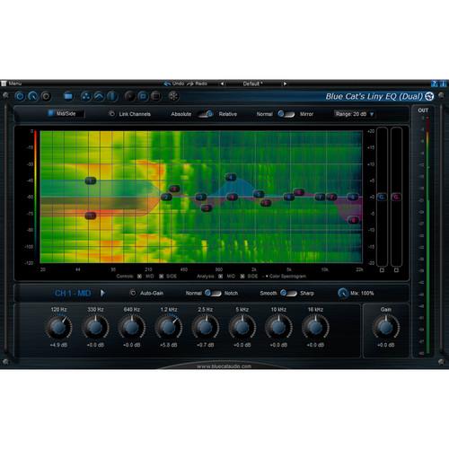 Blue Cat Audio Liny EQ 8-Band Linear EQ Plug-In