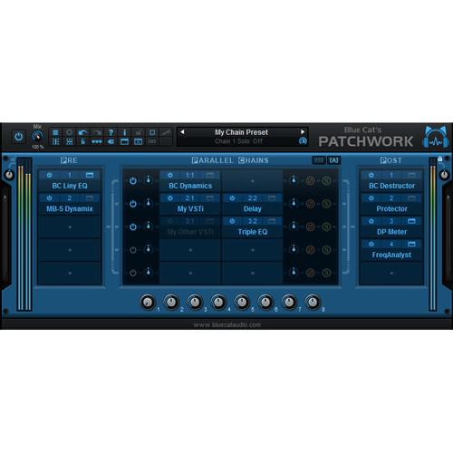 Blue Cat Audio PatchWork Virtual Patchbay for Audio Plug-Ins