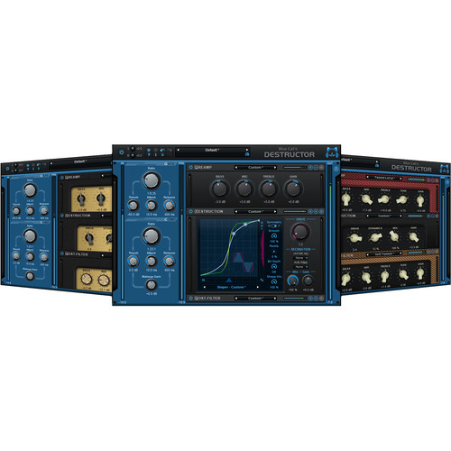 Blue Cat Audio Destructor - Distortion and Guitar Amp Simulation Plug-In (Download)