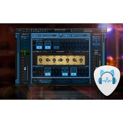 Blue Cat Audio Axiom - Multi-Effects Processor & Amp Simulation Plug-In (Download)