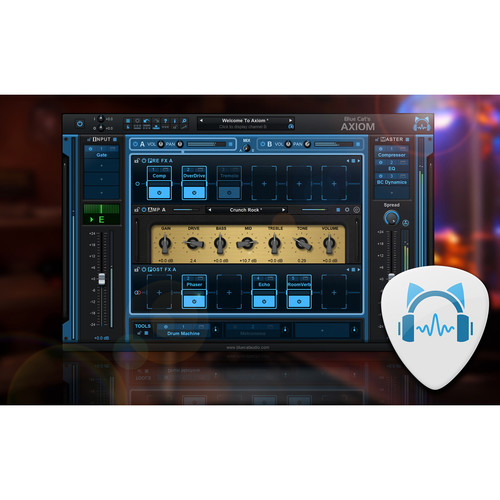 Blue Cat Audio Axiom - Multi-Effects Processor & Amp Simulation Plug-In (Download)