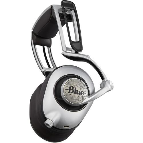 Blue Ella Planar Magnetic Headphones with Built-In Amplifier (Black)