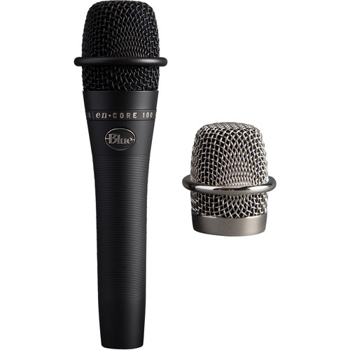 Blue enCORE 100 Dynamic Handheld Vocal Microphone (Black)