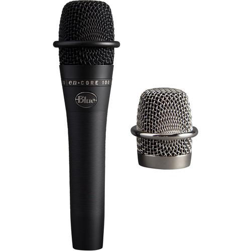 Blue enCORE 100 Dynamic Handheld Vocal Microphone (Black)