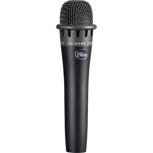 Blue enCORE 100i Dynamic Instrument Microphone (Black)