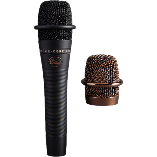 Blue enCORE 200 Active Dynamic Handheld Vocal Microphone (Black)