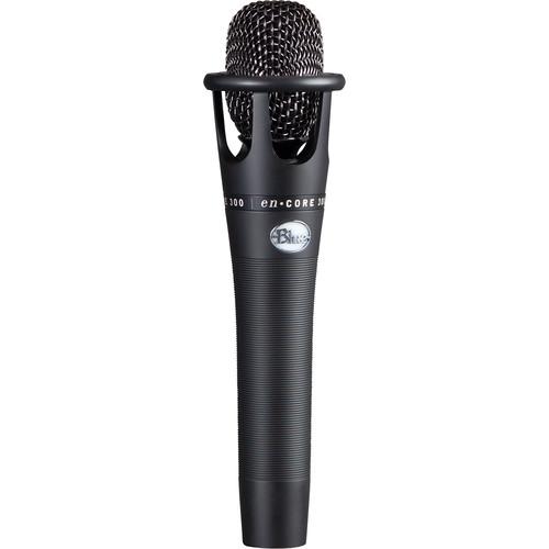 Blue enCORE 300 Condenser Handheld Vocal Microphone (Black)