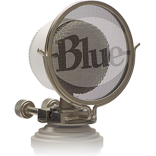 Blue Replacement Pop Filter for Bluebird Microphone