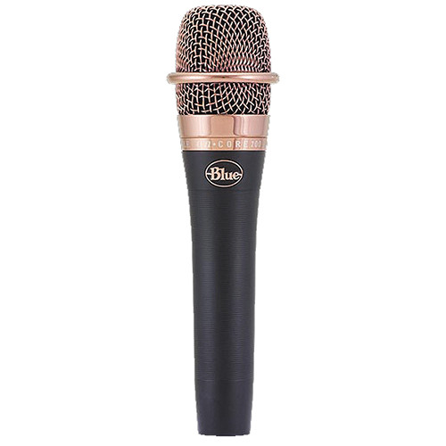 Blue Pair of enCORE 200 Handheld Dynamic Microphones Kit