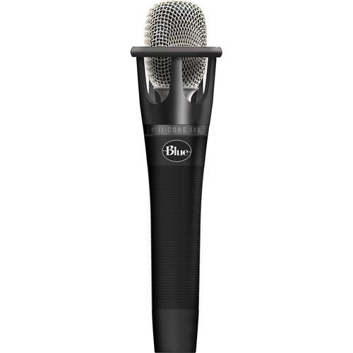 Blue Pair of enCORE 300 Handheld Condenser Microphones Kit