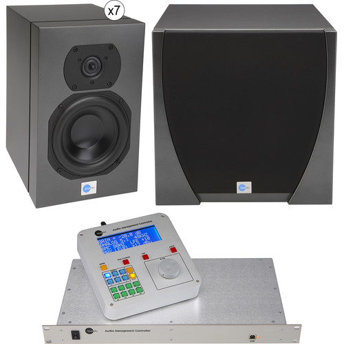 Blue Sky International Star 7.1 Stereo/Subwoofer System with Audio Management Controller