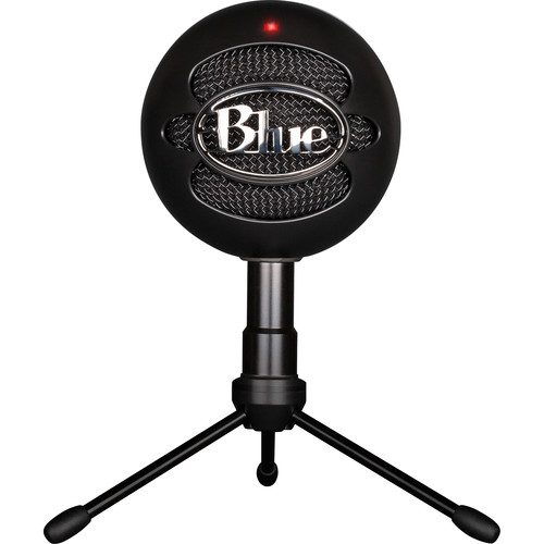 Blue Snowball iCE USB Condenser Microphone with Accessory Pack (Black)