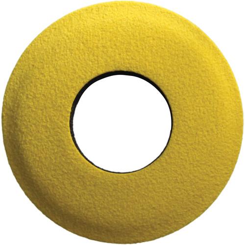 Bluestar Round Extra Small Microfiber Eyecushion (Yellow)