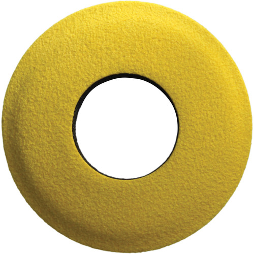 Bluestar Round Extra Small Microfiber Eyecushion (Yellow)