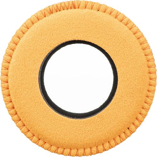 Bluestar Round Extra Small Microfiber Eyecushion (Orange)