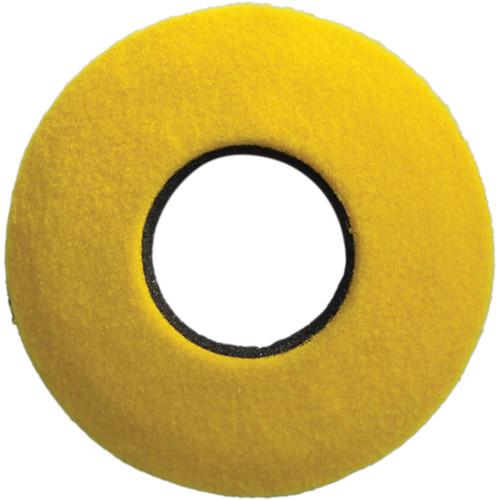 Bluestar Round Extra Small Fleece Eyecushion (Yellow)