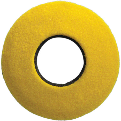 Bluestar Round Extra Small Fleece Eyecushion (Yellow)