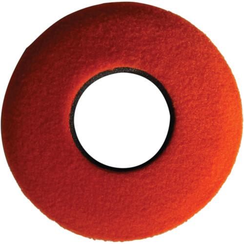 Bluestar Round Extra Small Fleece Eyecushion (Orange)