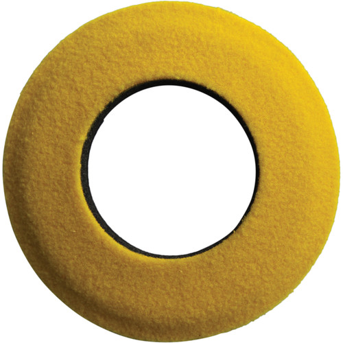 Bluestar Round Extra Large Fleece Eyecushion (Yellow)