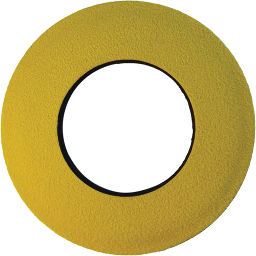 Bluestar Round Large Microfiber Eyecushion (Yellow)