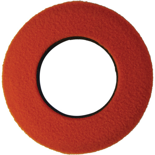 Bluestar Round Large Fleece Eyecushion (Orange)