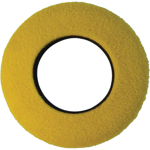 Bluestar Round Large Fleece Eyecushion (Yellow)