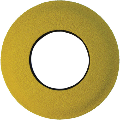 Bluestar Round Small Microfiber Eyecushion (Yellow)