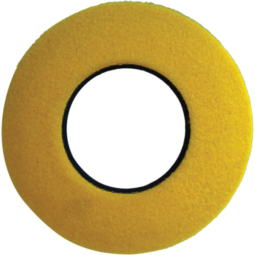 Bluestar Round Small Fleece Eyecushion (Yellow)