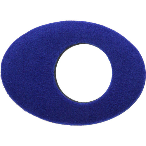 Bluestar Oval Extra Large Fleece Eyecushion (Blue)
