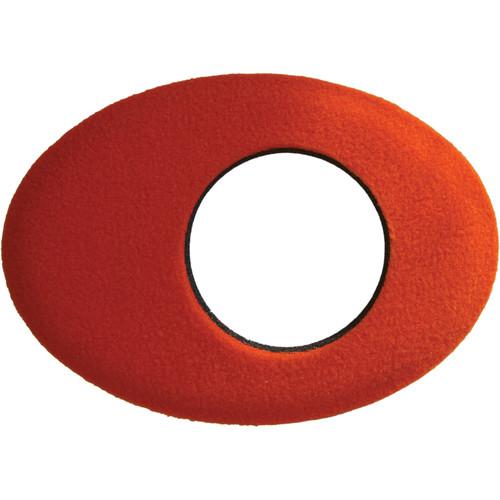Bluestar Oval Extra Large Fleece Eyecushion (Orange)