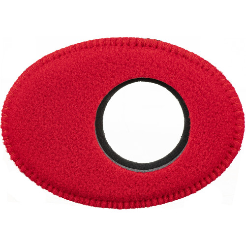 Bluestar Oval Extra Large Fleece Eyecushion (Red)