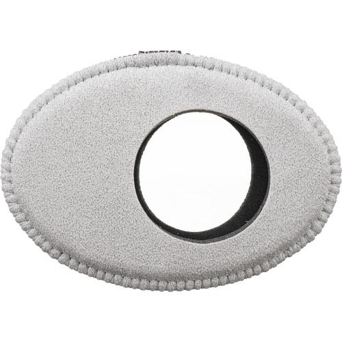 Bluestar Oval Extra Large Ultrasuede Microfiber Eyecushion (Grey)