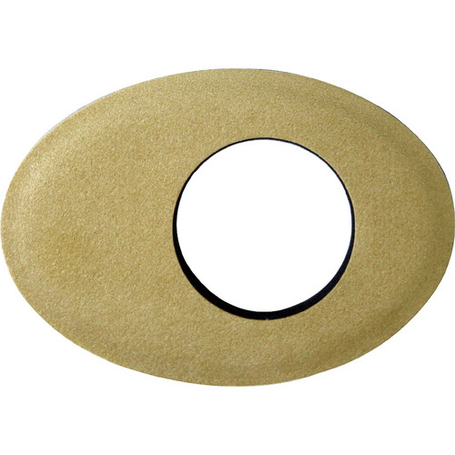 Bluestar Oval Extra Large Ultrasuede Microfiber Eyecushion (Natural Microfiber Color)