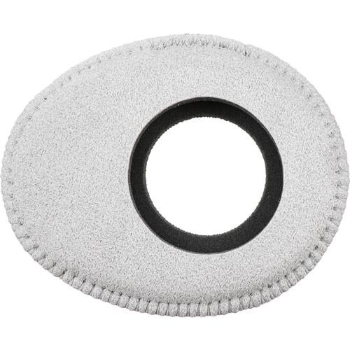 Bluestar Oval Large Viewfinder Eyecushion (Ultrasuede, Gray)