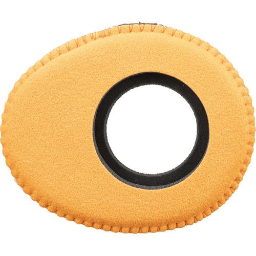 Bluestar Oval Large Viewfinder Eyecushion (Ultrasuede, Orange)