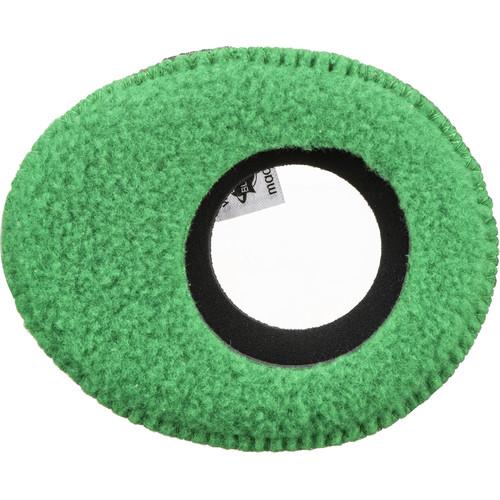 Bluestar Oval Large Viewfinder Eyecushion (Fleece, Green)