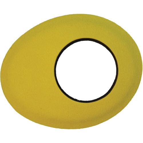 Bluestar Oval Small Microfiber Eyecushion (Yellow)