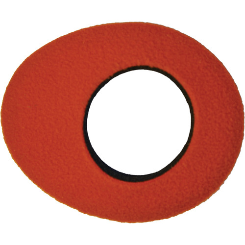 Bluestar Oval Small Fleece Eyecushion (Orange)