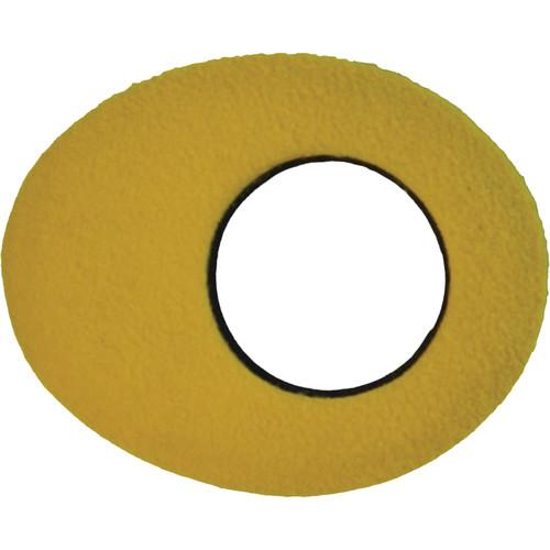 Bluestar Oval Small Fleece Eyecushion (Yellow)
