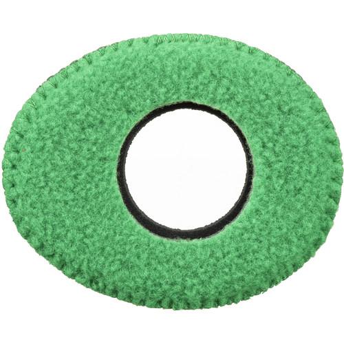 Bluestar Oval Small Viewfinder Eyecushion (Fleece, Green)