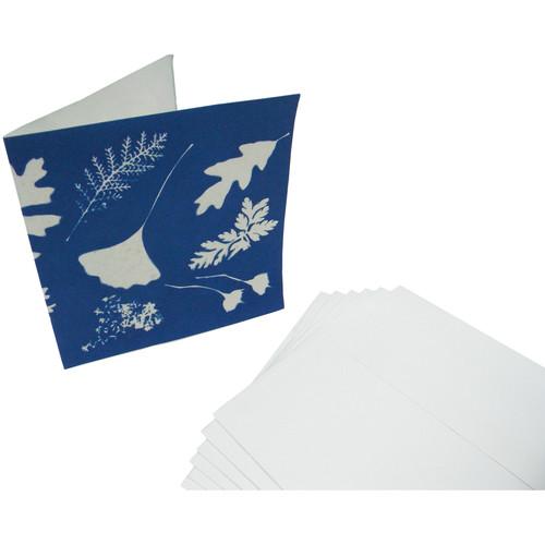 "Cyanotype Store 6 x 6"" Cyanotype Paper, Notecard & Envelope Kit (Set of 6)"