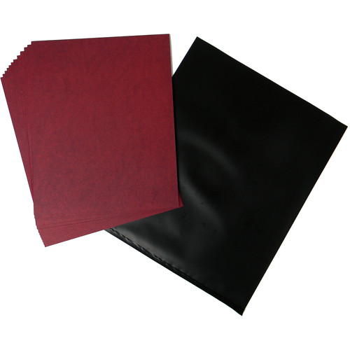 "Cyanotype Store Cyanotype Paper (8 x 10"", Cherry Red, 12 Sheets)"