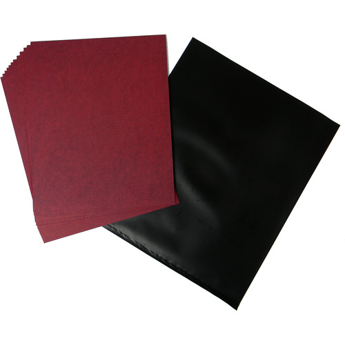 "Cyanotype Store Cyanotype Paper (8 x 10"", 24-Sheets, Cherry Red)"